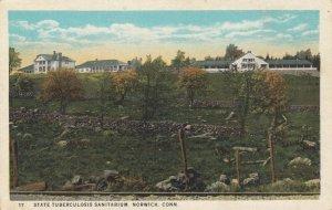 NORWICH , Connecticut , 1900-10s ; State Tuberculosis Sanitarium