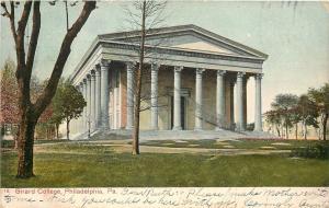 Philadelphia PA~Founder's Hall~Greek Revival Architecture~Girard College~1907