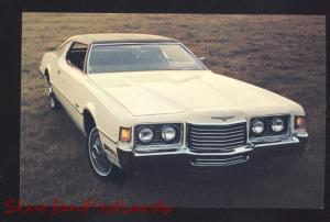 1972 FORD THUNDERBIRD VINTAGE CAR DEALER ADVERTISING