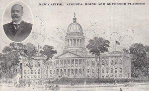 AUGUSTA, Maine, PU-1911; New Capitol, Governor Plaisted