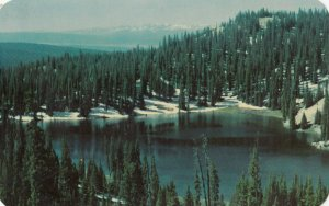 Silver Lake , Medicine Bow National Forest , Wyoming , 1965