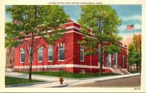 Massachusetts Middleboro Post Office