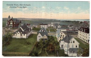 General View, Old Orchard, showing Town Hall