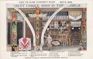 Ye Olde Curiosity Shop Ground Floor Colman Dock Entrance Seattle Washington sk71