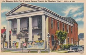 Missouri Boonville Old Thespian Hall First Dramatic Theatre West Of The Alleg...