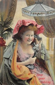 Stop your kidding Telephone 1910