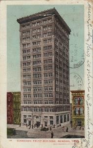 MEMPHIS, Tennessee, PU-1906; Tennessee Trust Building