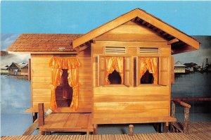 us8163 rumah belanggar traditional house malay technology museum   brunei