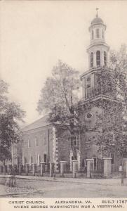 ALEXANDRIA, Virginia, 1900-1910s; Christ Church