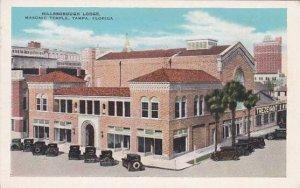 Florida Tempa Hillsborough Lodge Masonic Tempa