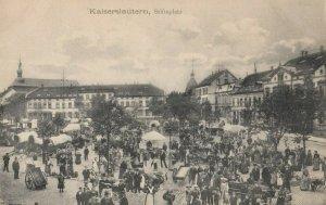 KAISERLAUTERN , Germany, 1900-10s ; Stiftsplatz
