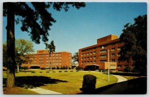 Columbia Mississippi State College for Women~Taylor & Kiern Hall Dorms~1960s PC