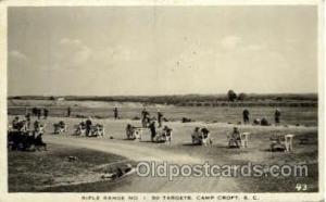 Camp croft, South Carolina, USA Military Postcard Postcards  Camp croft, Sout...