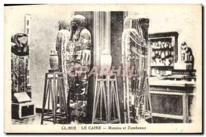 Postcard Ancient Egypt Egypt Cairo Mummies and Tombs