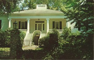 Postcard W. Pratt Thomas Home Columbus Mississippi