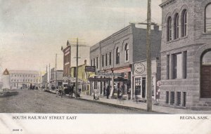 REGINA , Saskatchewan , Canada , 1900-10s; South Railway Street East