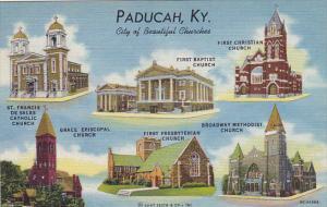 Kentucky Paducah Beautiful Churches Multi View