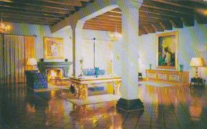 Mexico Lounge Hotel Posada Del Rey Zimapan 1955