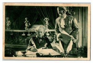Otto Gebuhr, Der Alte Fritz, Famous Actors Echte Wagner German Trade Card *VT31X