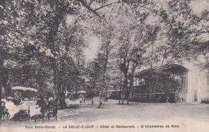 Parc Saint Donat Restaurant Hotel Antique French Postcard