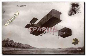 Old Postcard Jet Aviation Paulhan