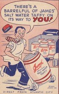 James' Water Taffy , ATLANTIC CITY , New Jersey , 1940