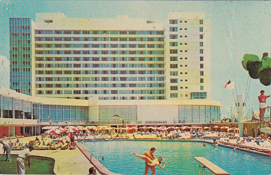 Deuville Hotel Pool Miami Beach Florida