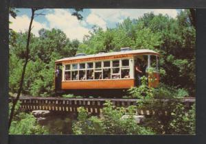 Electric Trolley,Spring Valley Electric Railway Postcard