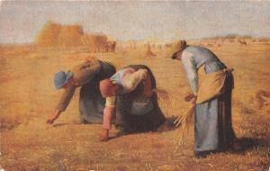 Agriculture Painting, The Gleaners, Jean-Francois Millet (Louvre Gallery)