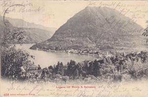Lugano Col Monte S. Salvatore, Switzerland, PU-1905