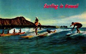 Hawaii Waikiki Beach Surfing The Sport Of Kings