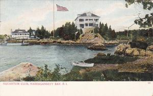 Squantum Club, NARRAGANSETT BAY, Rhode Island, 1901-07