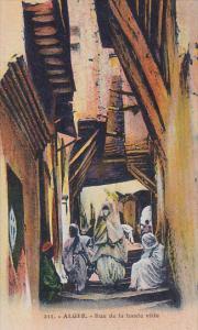 Rue De La Haute Ville, Alger, Algeria, Africa, 1900-1910s