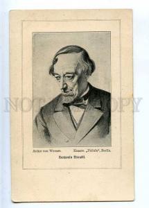 226837 Benjamin DISRAELI politician WTITER by WERNER Vintage
