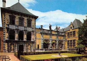Belgium Antwerpen Rubens House Portico and studiofacade Maison de Rubens