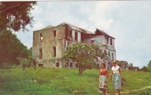 Jamaica Kingston Ruins Of Rose Hall Estate Great House