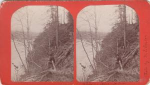 SV: Hunter watching for Ducks , Saluda River , FARR'S MILL , S.C. , 1870-80s