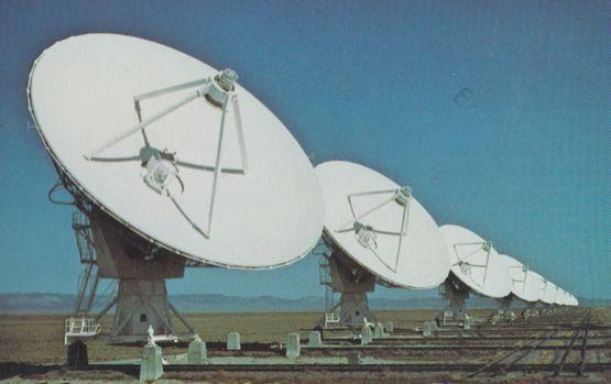 National Radio Astronomy Observatory Socorro New Mexico Postcard