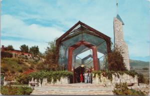 Wayfarers Chapel Portuguese Bend CA Calif. Unused Vintage Postcard D61