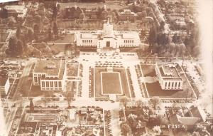 Salem Oregon~State Capitol Building Birdseye~Area Complex~1950s Real Photo~RPPC