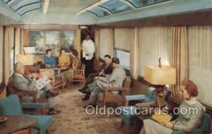 Sun Lounge Silver meteor, NY, FL USA Train, Trains, Locomotive, Old Vintage A...