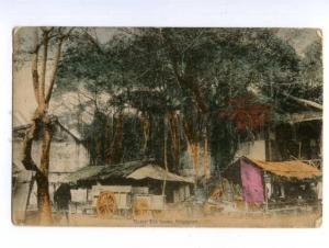 138691 SINGAPORE Malay Tea House Vintage postcard