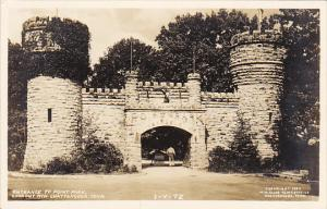 Tennessee Chattanooga Entrance To Point Park Lookout Mountain Real Photo