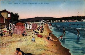 CPA SABLETTES-les-BAINS La Plage (410959)