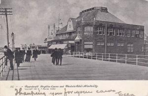 The Boardwalk, Exterior of the Brighton Casino and Blenheim Hotel, Atlantic C...