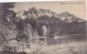 Badersee Und Die Zugspitze, Germany, 1900-1910s