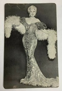 VTG Old 1967 Personality Posters Inc. Litho Mae West Actress Photo Postcard 8x5
