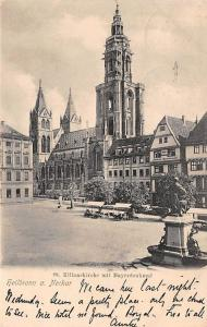 Heilbronn am Neckar St Kilianskirche mit Mayerdenkmal Monument Statue