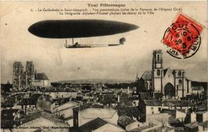 CPA AK Toul - Aviation - La Cathedrale et Saint-Gengoult (386499)