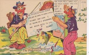 Fishing Humour The Fisherman's Code
